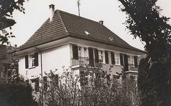 The house in Olten where Hans Salvisberg grew up.